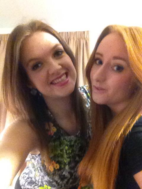 Me and Luce last night, love her loads man, been such a babe helping is get through the last couple weeks without topping meself.