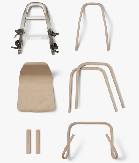 pnch:  Dezeen - Tram Chair by Thomas Feichtner for TON