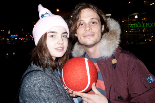Matthew Gray Gubler and Ali Michael