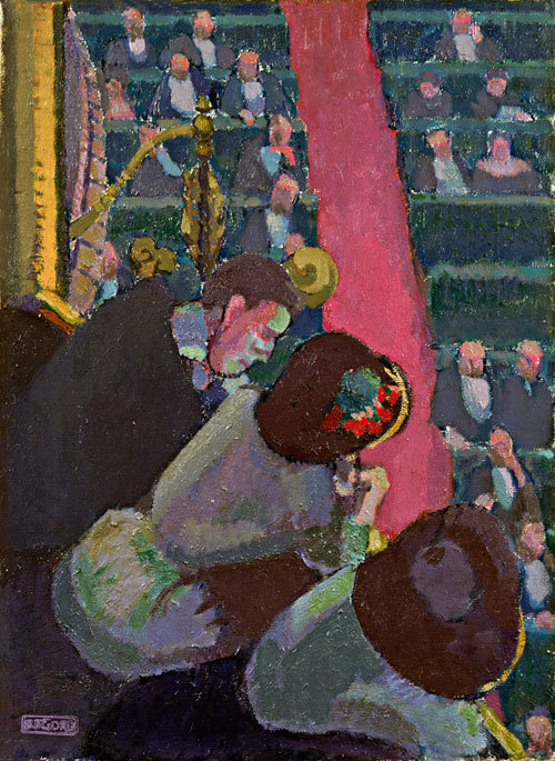 artmastered:  Spencer Gore, The Balcony at the Alhambra, 1911-12