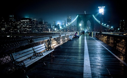 coffee-tea-and-sympathy:  Brooklyn Bridge