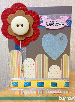 A perfect card for someone special for any occasion from Tiny Sparks Creations Buy it now from here! UK SHIPPING ONLY