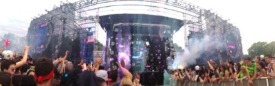 Main Stage at EDCNY 2013