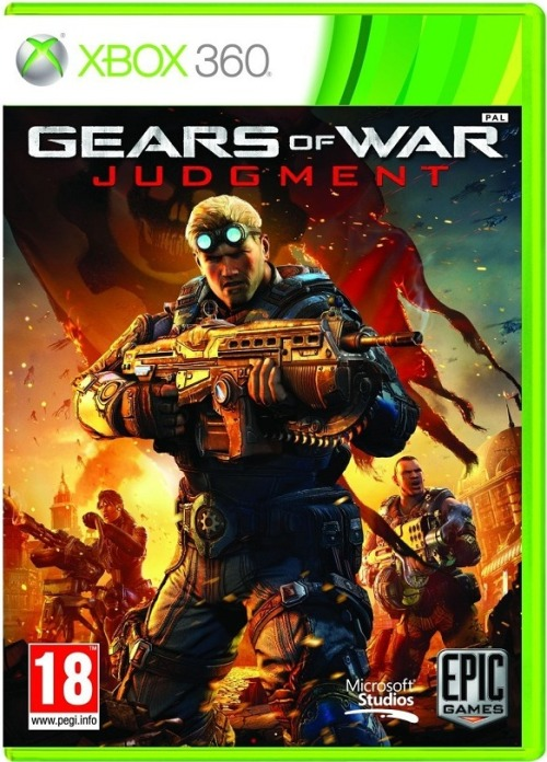 This is your cover for Gears of War: Judgment