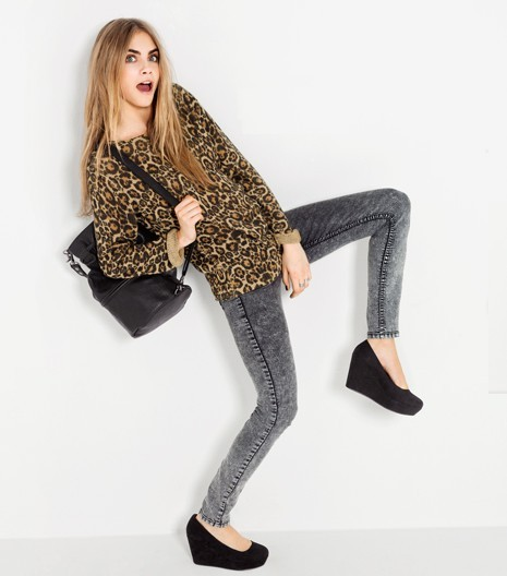 z-a-ra:  Cara Delevingne for H&M  Erryday style inspiration