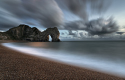 Durdle Door by peterspencer49 on Flickr.