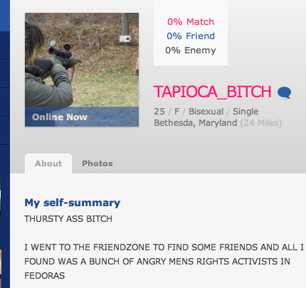 stuffparty:  crystalsavestheday:  Literally the best self-summary on OKCupid  It's… beautiful.