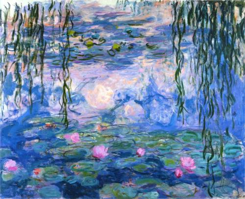 Water Lilies, 1919 ~ Claude Monet