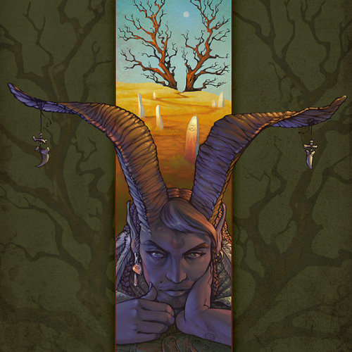 prettyresults:  The Horned God, Cernunnos, Pan, art made by Stephanie.