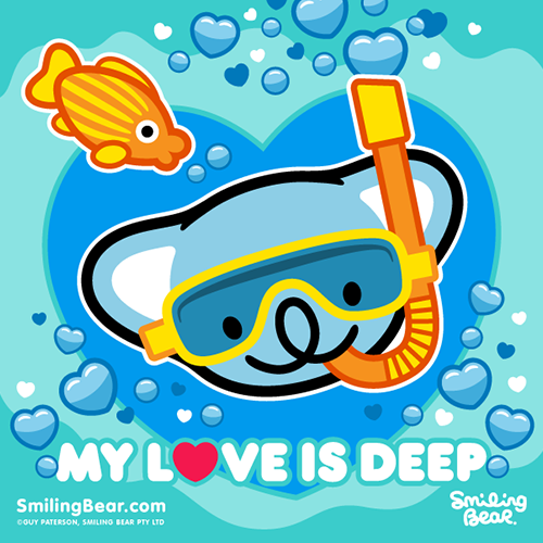 smilingbear:  How Deep Is Your Love? http://bit.ly/SB_DEEP