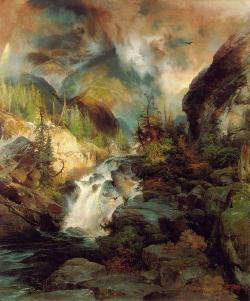 Thomas Moran, Children of the Mountain, 1867