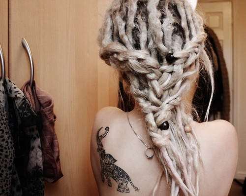 i really want dreads D: like serious can i please!
