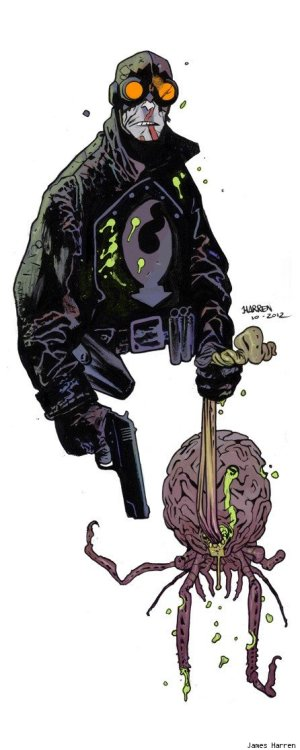 Lobster Johnson by James Harren