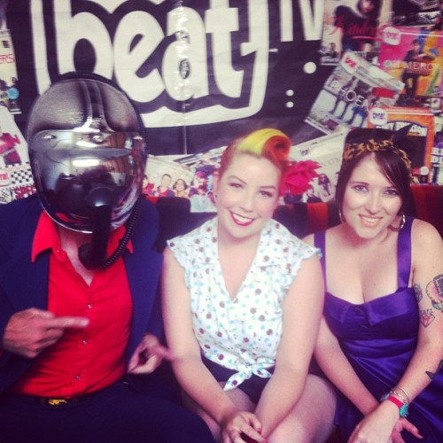 On @beatmagazine  TV with bob log #tv #melbourne #boblog #heelsondecks #rockabilly