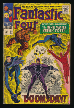 Fantastic Four #59(Feb. 1967)