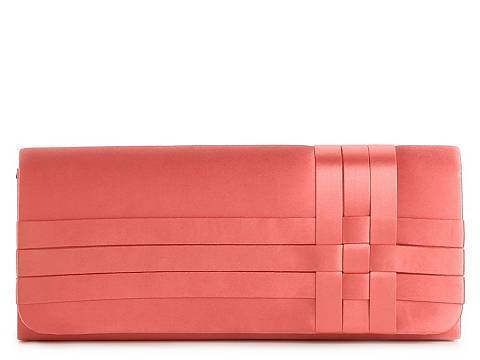 wantering:  Lulu Townsend Woven Satin Clutch