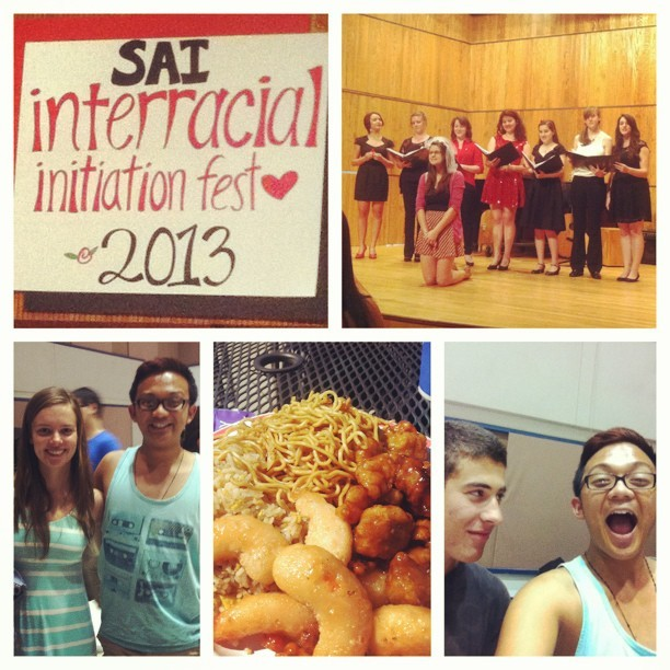 Today was very eventful. Recitals, food, relaxation, and friends. Yay! #friends #uop #uopconservatoryofmusic #pacific #saietaomega #sigphilove #newfriends #matching #beckyneedsaniphone #wildpanda #longday  (at University Of The Pacific (UOP))