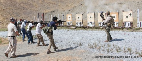 The dudes who run TheBlackRifle are in this photo :) photo taken by Point and Shoot Media Works Photo is dated AUG 2011. Check the archives for some of our own pics Don't worry, MilspecMonkey is out of the line of fire. haha