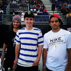 Can't wait for @toreypudwill1 @shanejoneill @prod84 to skate there heat in the Barcelona @streetleague at @xgames stop! #streetleague #xgames #slsatxgames