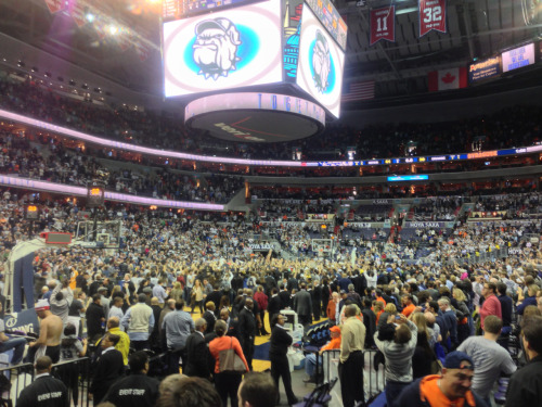 Hoyas win! Demolished Syracuse, 61-39, and won the BIG EAST!!!