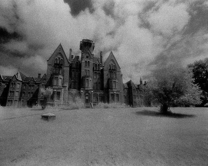 creepyabandonedplaces:  Danvers State Hospital Danvers, Massachusetts  Danvers State Hospital has been abandoned since 1992. During the 1920's-30's the hospital used controversial treatments such as shock therapy, various drugs, and frontal lobotomies. It may have even been the birthplace of the frontal lobotomy.  In 2006, some structures were demolished and apartment buildings were built in its place; in April 2007, the buildings and several construction trailers went up in flames. Any efforts at renovation since then have been avoided.