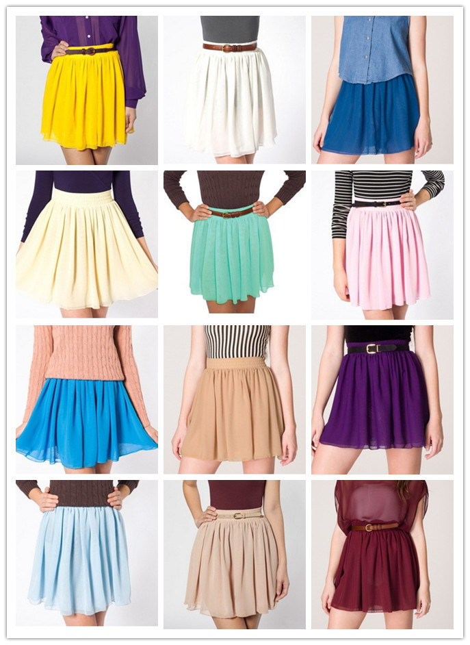 The perfect skirt that goes with EVERYTHING! ღ♥♥ღ