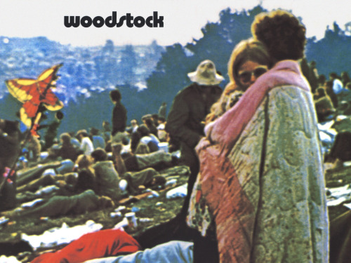 Woodstock Oh, and there we were all in one placeA generation lost in spaceWith no time left to start again