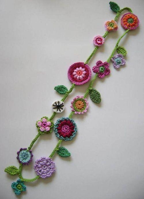 crafts crochet handmade garland bunting