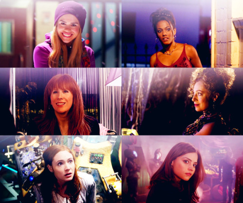 doctor who; ladies in purple requested by claravoyant