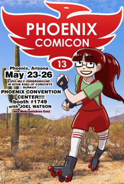 itswalky:  WEBCOMICBROS CON  It'll be easy to tell us apart. I will be the one selling you t-shirts. David will be the one ignoring you and playing a 3DS.