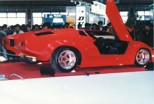 Lamborghini Countach Custom Japan, late 80's