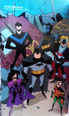 - No Man's Land/Batfamily, B:TAS comics style And this, my faifthful followers, concludes my several months long spammage of the four gigantic volumes of the enormous No Man's Land saga. Hope you've enjoyed!