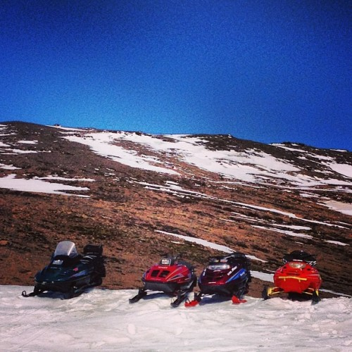 #snowmobile #snow #mountain #iceland