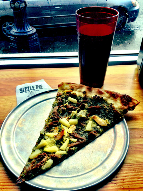 reblogged from alonereed:    Fuck yeah, Sizzle Pie. I think I might need a second slice…