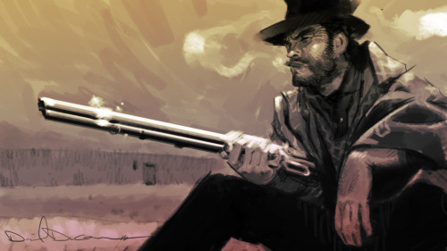 thre3f:  Fistful of Dollars by Dan Duncan