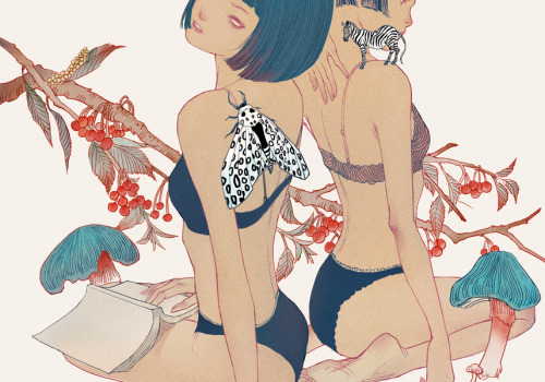 artforadults:   xiuyuan submitted ————— Garden #2