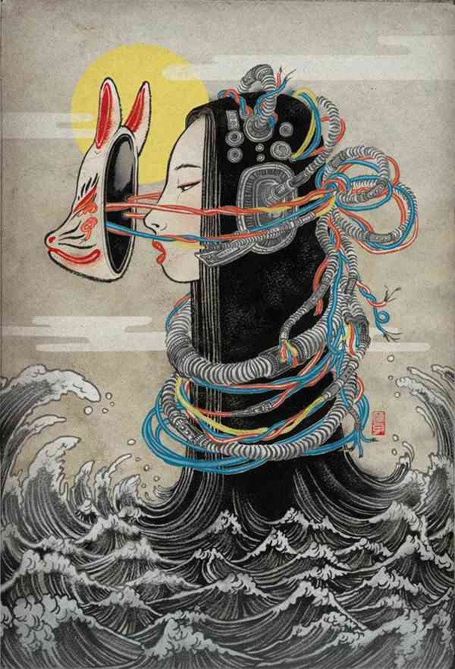 The Melancholy of Mechagirl, by Yuko Shimizu.