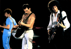 Queen Performing in 1981.