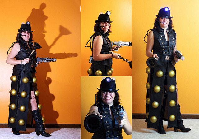 Steampunk Dalek by Mark Dumont on Flickr. Love it.