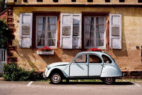 portu666:  2CV by  Andreas Huppert   *** My first car :)