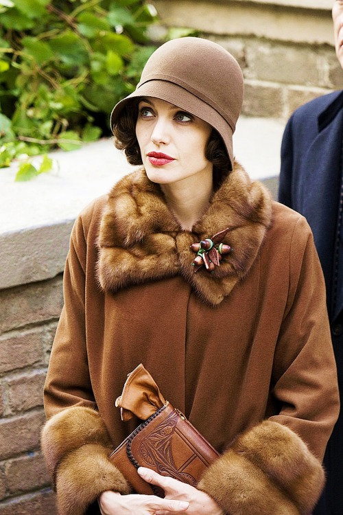 Angelina Jolie in Changeling, 2008.