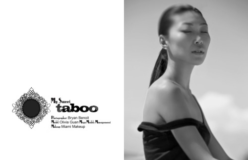 "bryanbenoit:  ""My Sweet Taboo"". 75ive Magazine. Model Olivia Guan. Photography by Bryan Benoit  Oh look, it's me ^^"