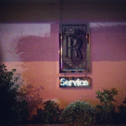 service (at Rolls Royce Of Beverly Hills)