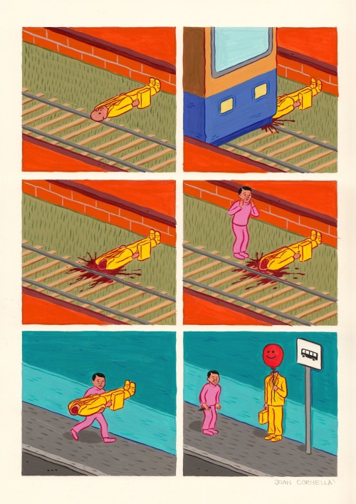 Joan Cornellà This is awfully wonderful.