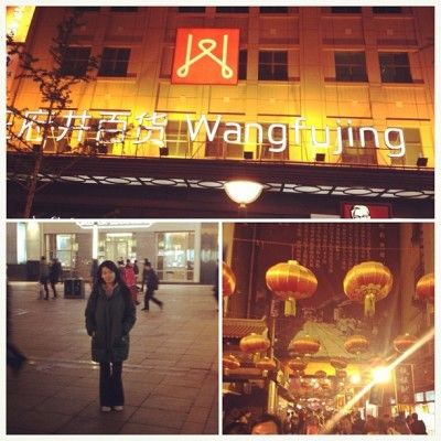 Successful shopping trip at Wangfujing in Beijing :)