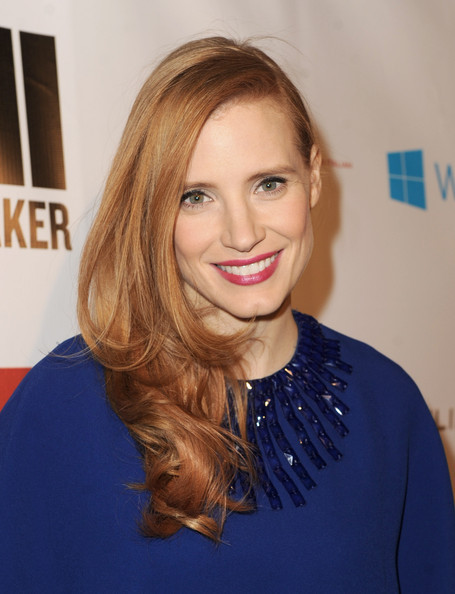 Cop Jessica Chastain's Pre-Oscars Look! At a recent pre-Oscars party, Zero Dark Thirty star Jessica Chastain rocked a subtle but oh-so-chic combo of pretty pink lips, matte skin, and impeccable liner. Here's how to recreate her look:  Step 1: You won't find a lick of shine on Jessica's flawless face. Before applying your go-to complexion perfectors, start with a mattifying moisturizer like this one from Benta Berry to get a totally even canvas. Step 2: Add pale peachy blush to the apples of your cheeks. Opt for powder that you can use to build up the color like Benefit's Coralista shade. Step 3: Draw attention to your eyes by lining your upper lash line with an inky liner like this one from stila. No matter your skill level, you can achieve the perfect line with these troubleshooting tips. Follow with a few coats of mascara. Step 4: Now for the fun part—your lips! Grab a long-lasting, vibrant pink (we're currently obsessed with Elizabeth Arden's Blush Lipstick) and follow these easy application tips.  Step 5: Complete the look by adding a deep side part to your hair and smooth away any frizz with a nourishing hair serum like this one from Amika. —Ally Check the Birchbox Twitter feed for more Oscar commentary and red carpet trend spotting.