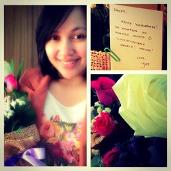 Valentine surprise! Iloveyousomuch @epemjuz! 💏❤ #happilymarried #valentine #love