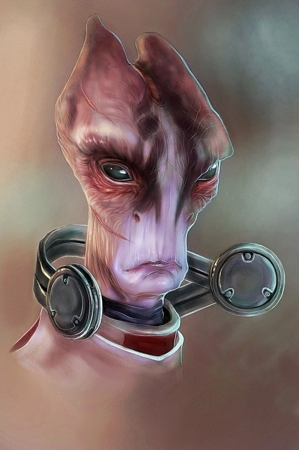 geeksngamers:  Mass Effect Portraits - by MissPendleton