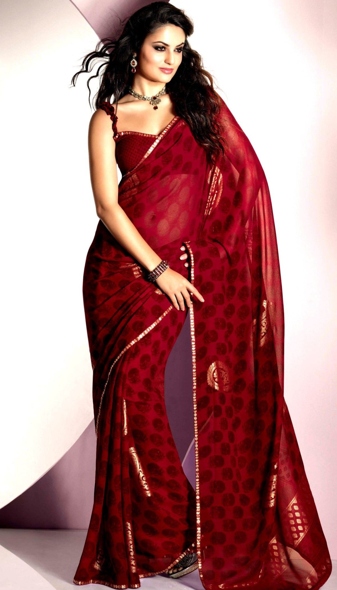 Different Types Of Party Wear Sarees 63