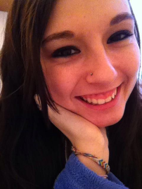 Got my nose pierced yesterday! :D